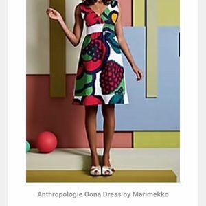 Marimekko Oona for Anthropologie Dress